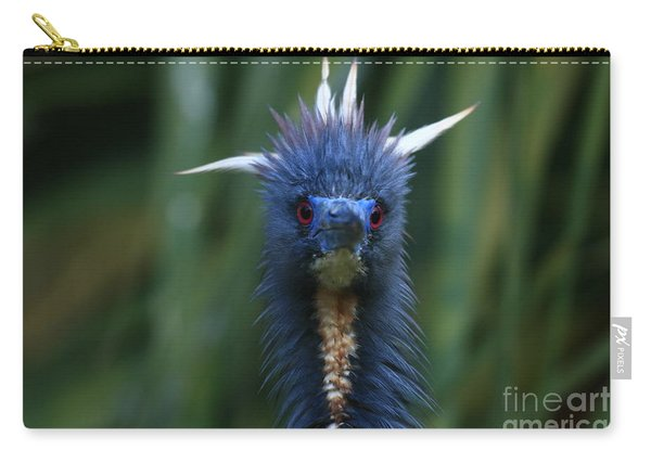 Tri-colored Heron Plumes Carry-all Pouch