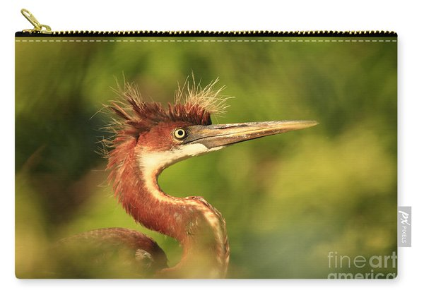 Tri-colored Heron Youth Carry-all Pouch