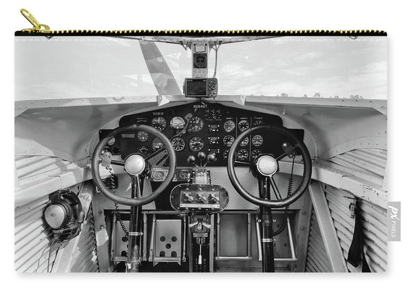 Tri-motor Cockpit - 2017 Christopher Buff, Www.aviationbuff.com Carry-all Pouch