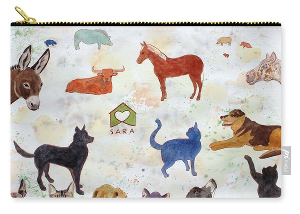 Tribute To Tracy Carry-all Pouch