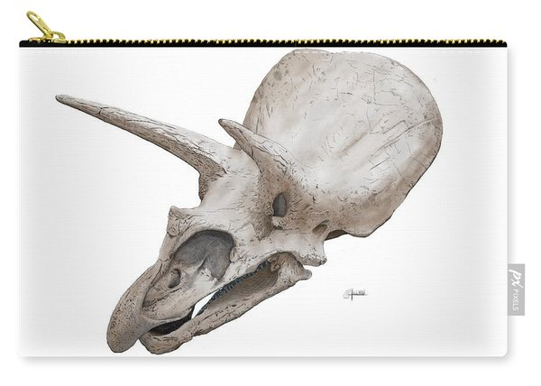 Triceratops Skull Carry-all Pouch