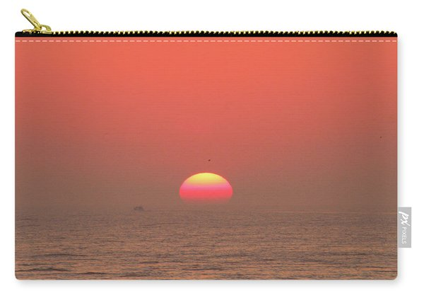 Tricolor Sunrise Carry-all Pouch