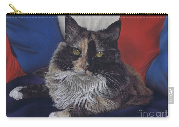Tricolore Carry-all Pouch