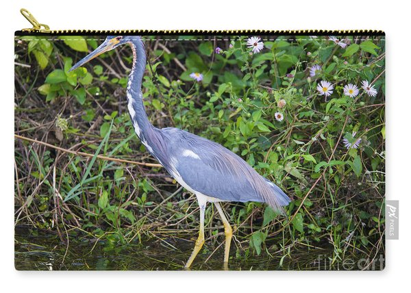 Tricolored Heron Hunting Carry-all Pouch