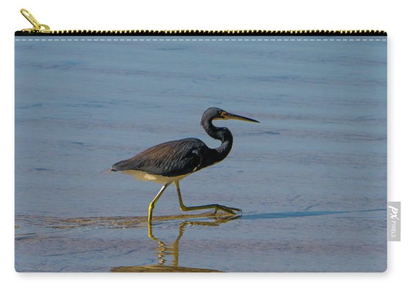 Tricolored Heron Taking A Stroll Carry-all Pouch