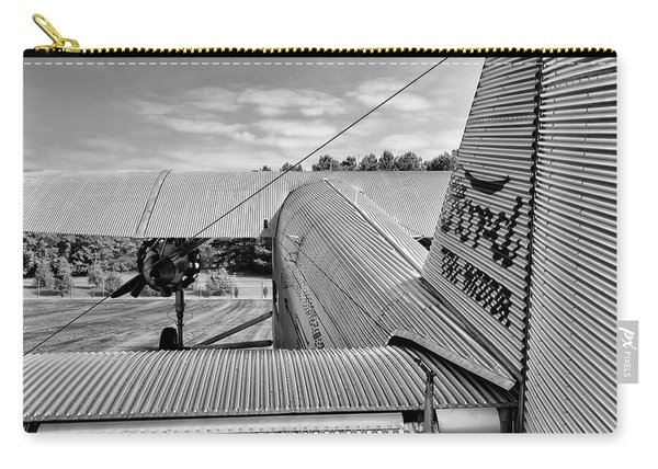 Trimotor Tail View - 2017 Christopher Buff, Www.aviationbuff.com Carry-all Pouch