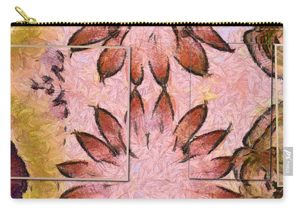 Triphenylmethane Unclad Flowers  Id 16164-113136-61481 Carry-all Pouch