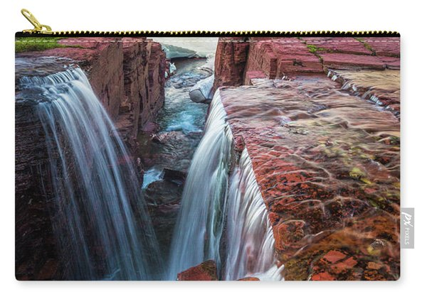 Triple Falls Sunset Carry-all Pouch