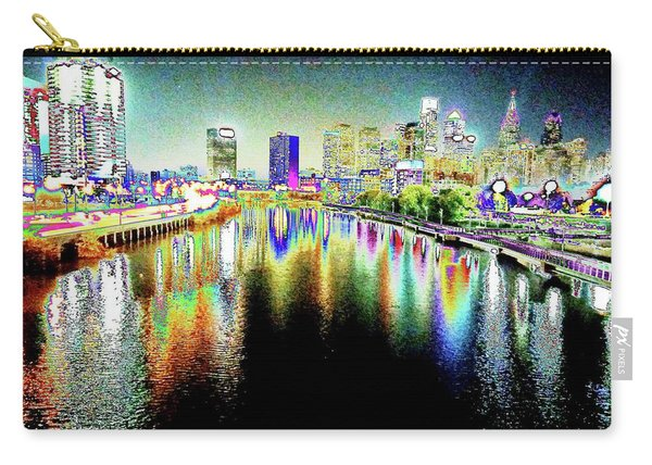 Tripping Across The South Street Bridge Carry-all Pouch