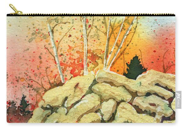 Triptych Panel 2 Carry-all Pouch
