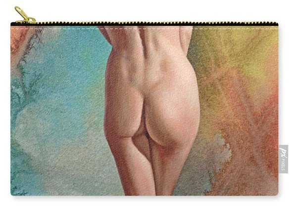 Trisha - Back View Carry-all Pouch