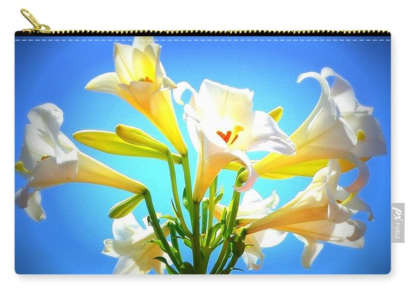 Triumphant  Easter Lilies Carry-all Pouch