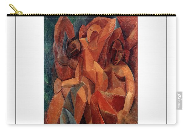Trois Femmes Three Women  Carry-all Pouch