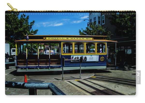Trolley Car Turn Around Carry-all Pouch