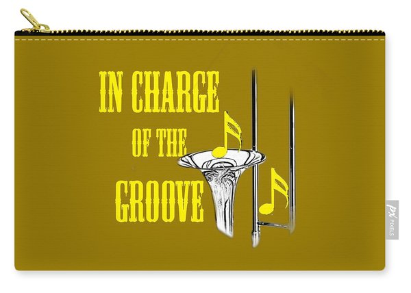 Trombones In Charge Of The Groove 5534.02 Carry-all Pouch