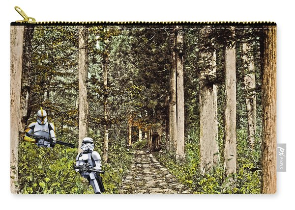 Troopers On The Planet Carry-all Pouch