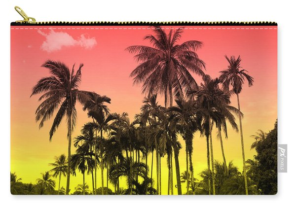 Tropical 9 Carry-all Pouch