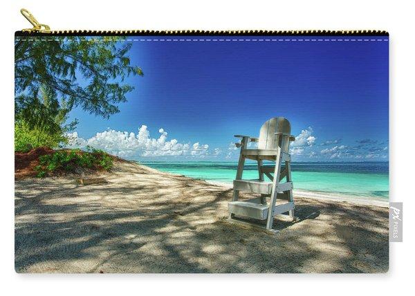 Tropical Beach Chair Carry-all Pouch