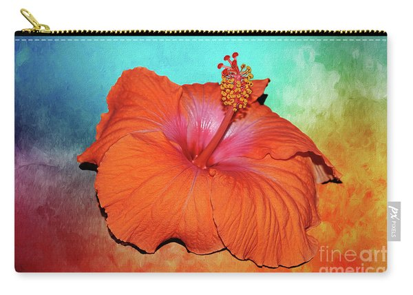 Tropical Delight By Kaye Menner Carry-all Pouch