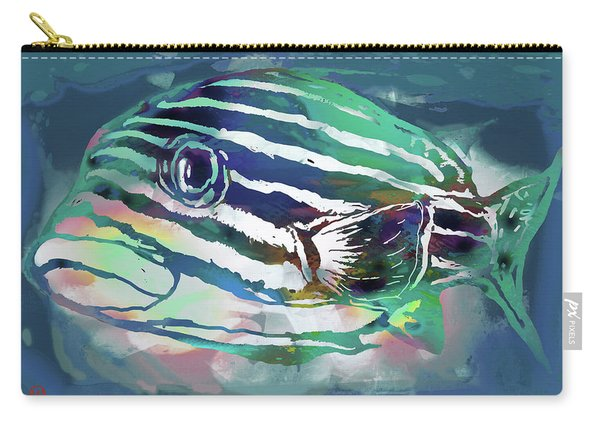 Tropical Fish - New Pop Art Poster Carry-all Pouch