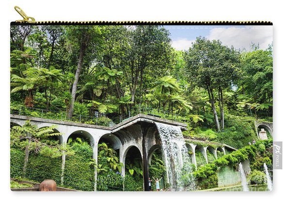 Tropical Gardens Waterfall Carry-all Pouch
