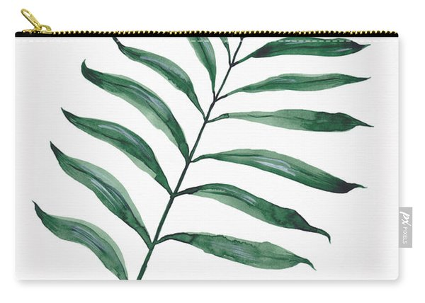 Tropical Greenery - Palm Tree Leaf Carry-all Pouch