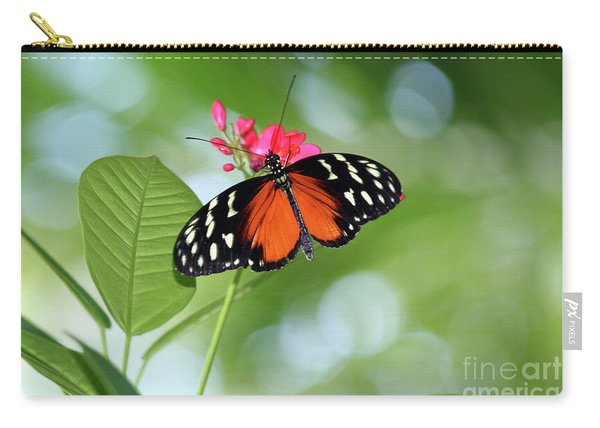 Tropical Hecale Butterfly Carry-all Pouch