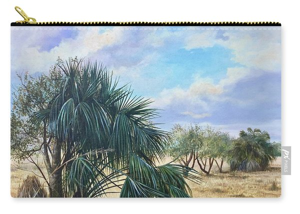 Tropical Orange Grove Carry-all Pouch