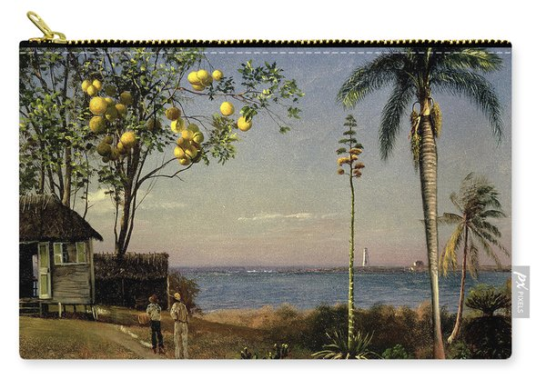 Tropical Scene Carry-all Pouch