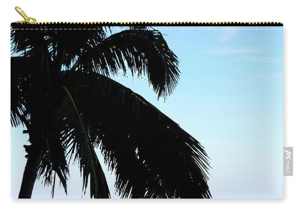 Tropical Sea View From Patio Carry-all Pouch