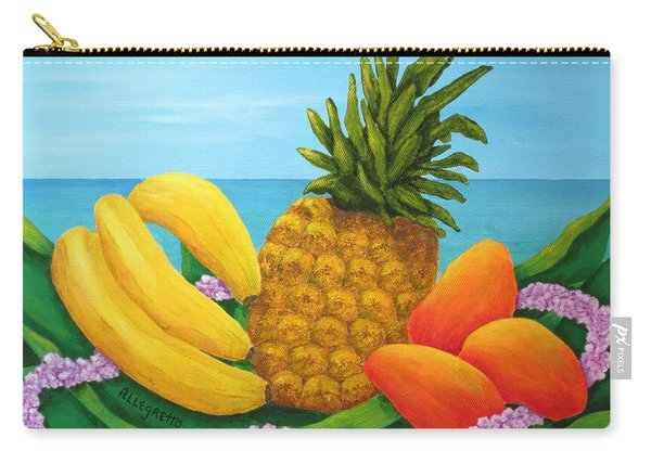 Tropical Trinity Carry-all Pouch