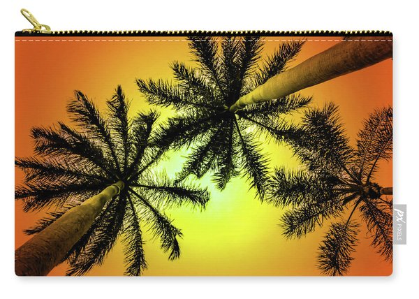Tropical Vibrance Carry-all Pouch