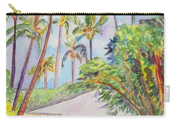 Tropical Waimea Cottage Carry-all Pouch