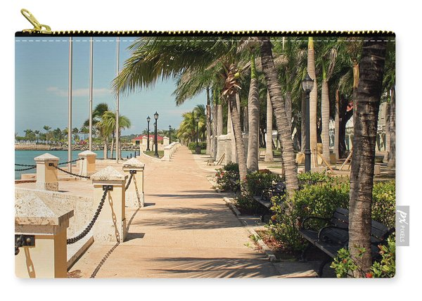 Tropical Walkway Carry-all Pouch