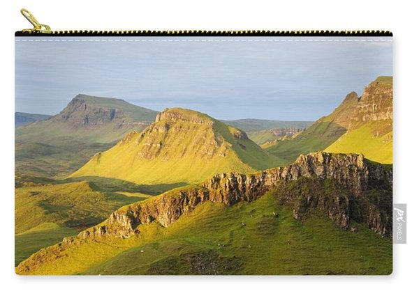 Trotternish Summer Morning Panorama Carry-all Pouch