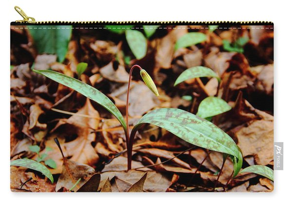 Trout Lily Carry-all Pouch