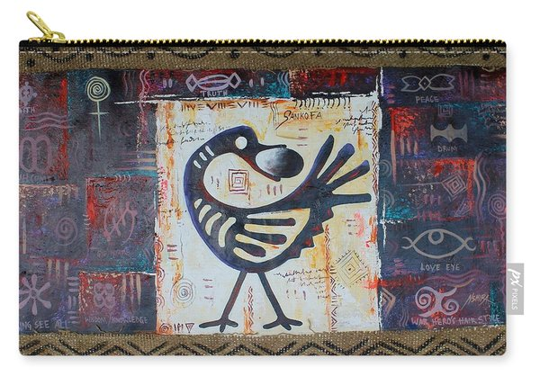 True African Symbols Carry-all Pouch