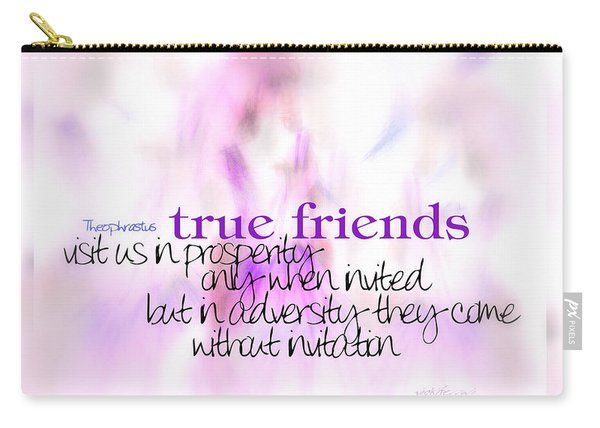 True Friends Carry-all Pouch