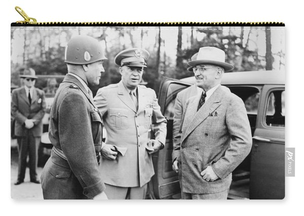 Truman Eisenhower And Hickey  Carry-all Pouch