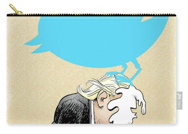 Trump Twitter Poop Carry-all Pouch