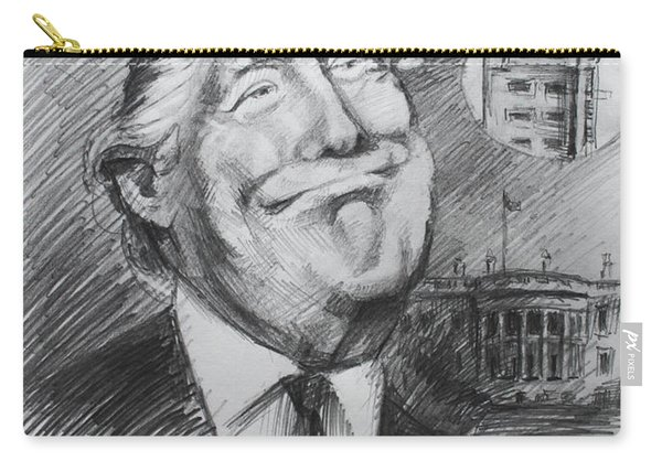 Trump White Tower  Carry-all Pouch