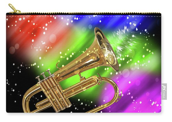 Trumpet Celebration Carry-all Pouch