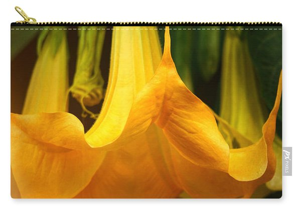 Trumpet Flower Afternoon Carry-all Pouch