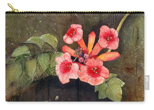 Trumpet Vine II Carry-all Pouch
