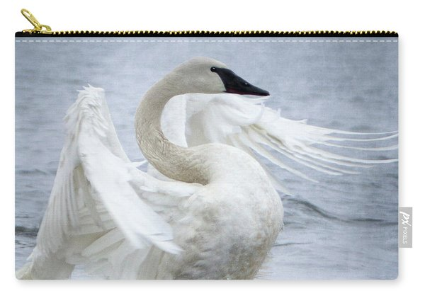 Trumpeter Swan - Misty Display 2 Carry-all Pouch