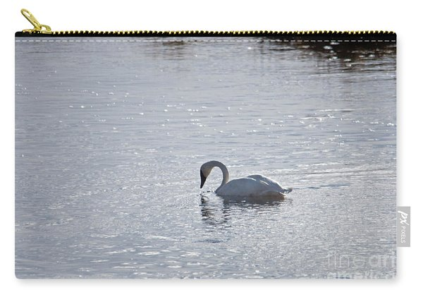 Trumpeter Swan Yellowstone Carry-all Pouch