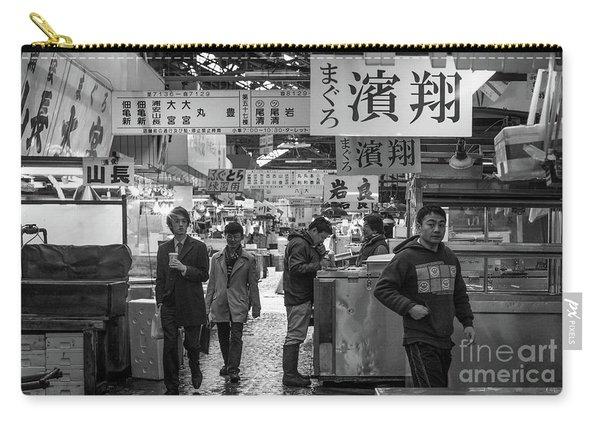 Tsukiji Shijo, Tokyo Fish Market, Japan 2 Carry-all Pouch
