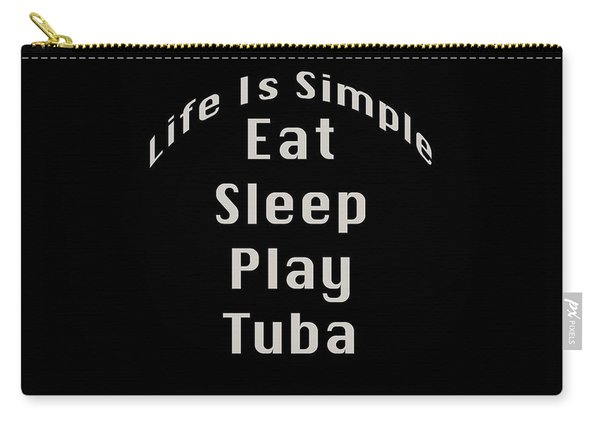 Tuba Eat Sleep Play Tuba 5519.02 Carry-all Pouch