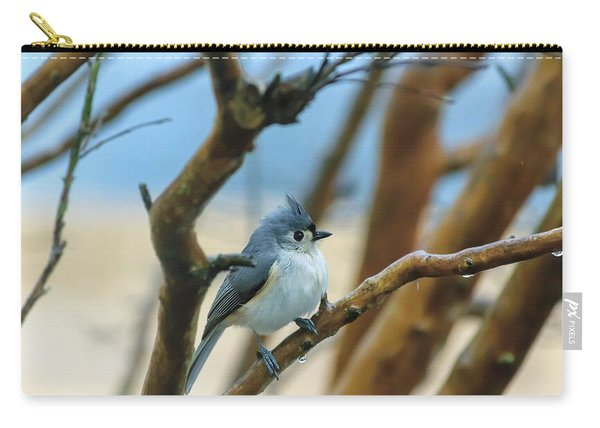 Tufted Titmouse In Tree Carry-all Pouch