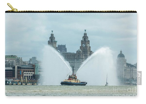 Tug Boat Fountain Carry-all Pouch